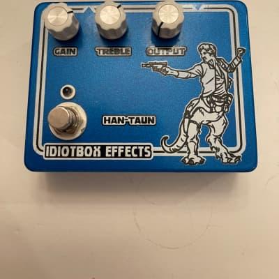 Idiotbox Effects Han Taun Overdrive Klone Idiot Box Rare Guitar Effect Pedal