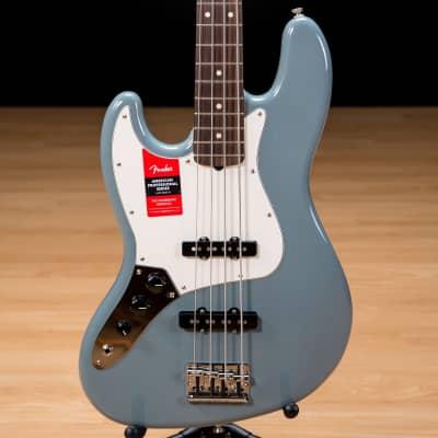 Fender American Professional Jazz Bass LH - Rosewood, Sonic Grey SN US16071834