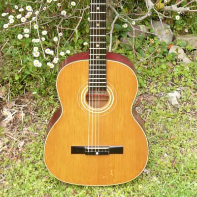 Yamaha Dynamic Guitar No.15 All Solid Guitar Nippon Gakki 1963 Natural for sale