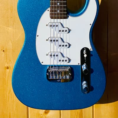 G&L ASAT Z-3 Emerald Blue Metallic with Matching Headstock for sale