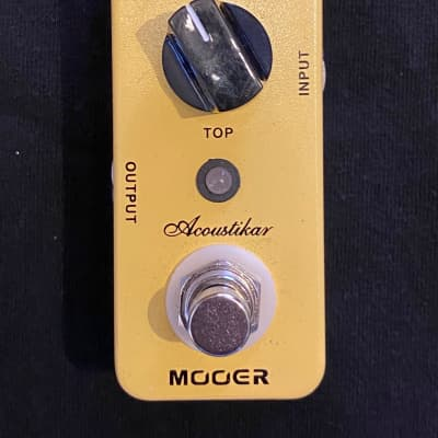 Mooer Acoustikar Acoustic Guitar Simulator