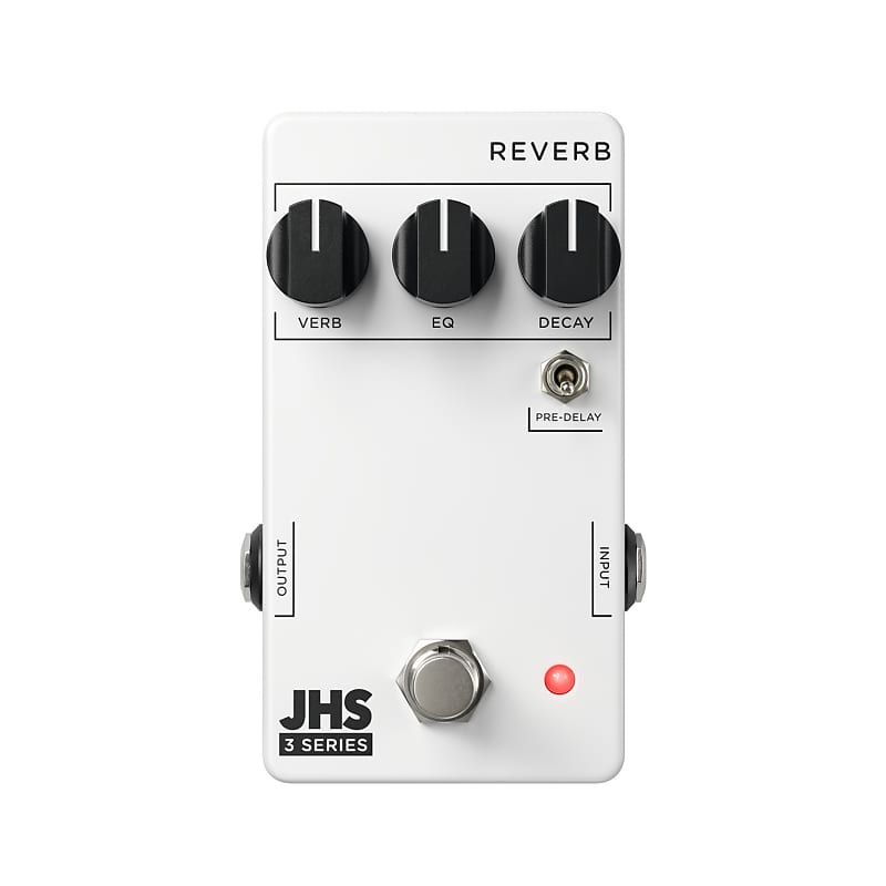 JHS 3 Series Reverb Effects Pedal