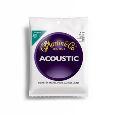 Martin M200, 12 String, Silk & Steel, 11.5 - 47.0