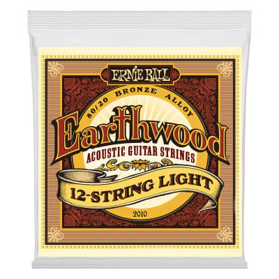 Ernie Ball Earthwood Light 12-String 80/20 Bronze Acoustic Guitar Strings - 9-46 Gauge