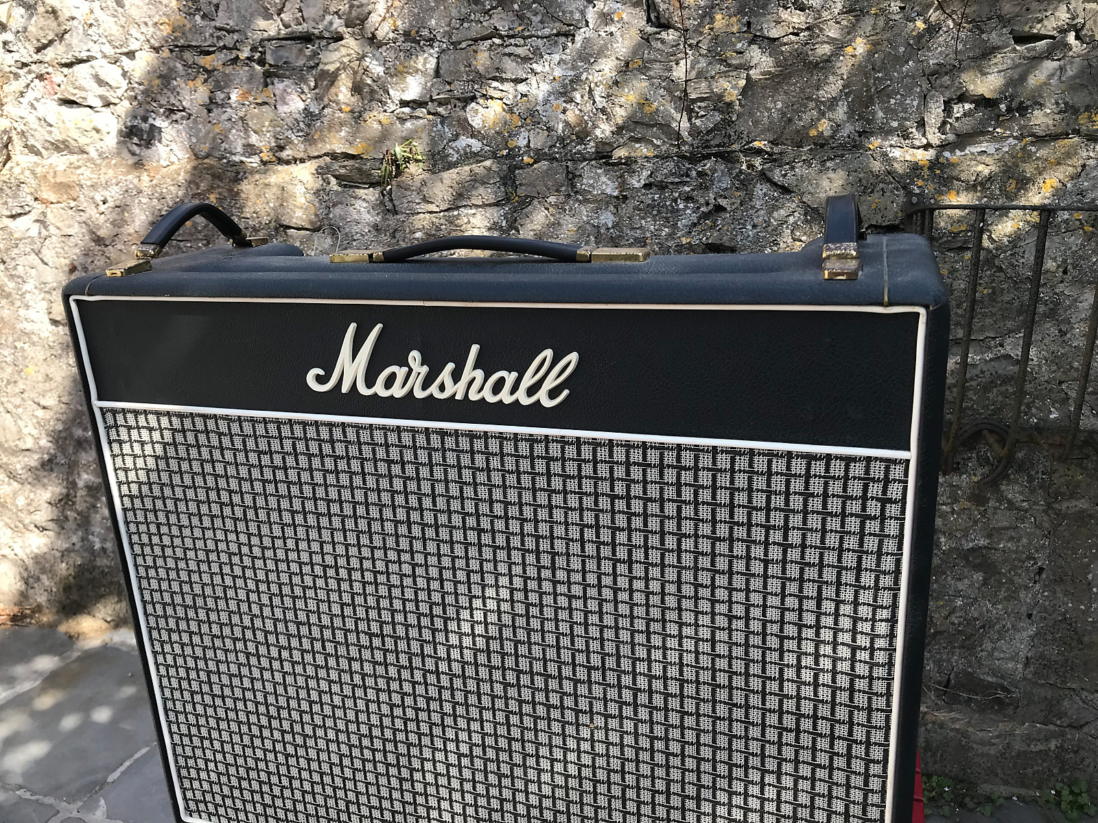 Marshall Marshall Lead-Bass-Organ 50W Combo with reverb and Celestion Speakers in a non original cab