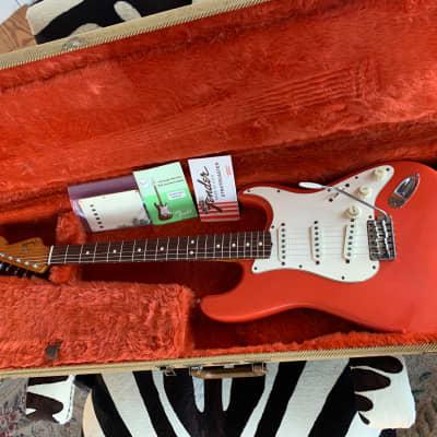 Fender 1988 Fender American Vintage '62 Reissue Stratocaster 1988 Fiesta Red for sale