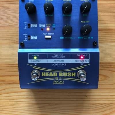 ✨ Akai Head Rush E2 Delay Looper Guitar Effects Pedal ✨ for sale