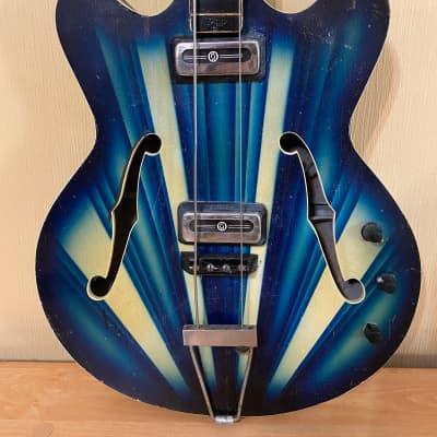 Orfeus Orpheus Hebros Bass Guitar Vintage 1970 for sale