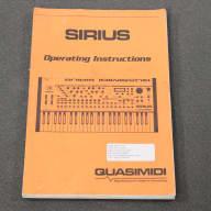Quasimidi Sirius Owner's Manual