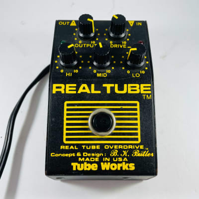 Tube Works Real Tube Overdrive *Sustainably Shipped*
