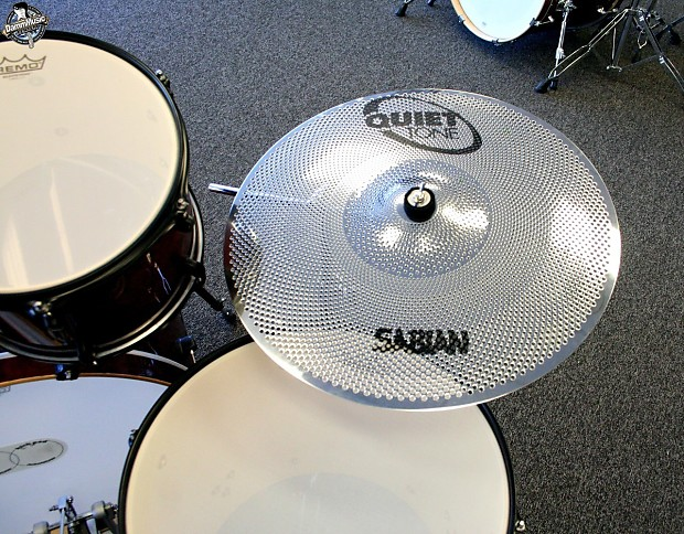 Mapex Horizon Drum Set With Sabian Quiet Tone Cymbals And Reverb