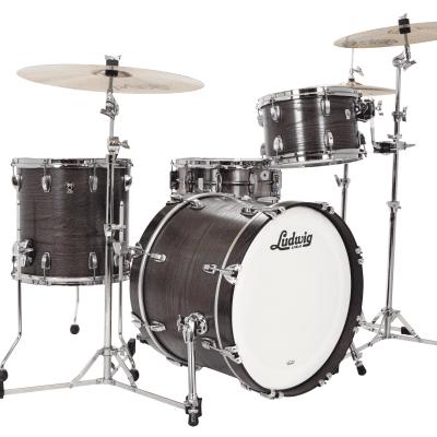 "Ludwig L7340 Classic Oak Downbeat Outfit 8x12 / 14x14 / 14x20"" Drum Set"