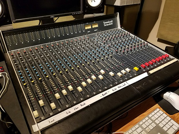 soundcraft series 600 vintage mixing recording console 16 reverb. Black Bedroom Furniture Sets. Home Design Ideas