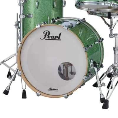 """Pearl MCT2018BX Masters Maple Complete 20x18"""" Bass Drum without Tom Mount"""