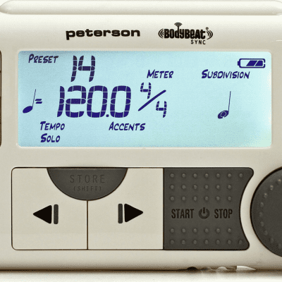 Peterson Body Beat Sync - The World's Most Versatile Metronome for sale