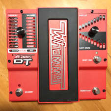 Digitech Whammy DT Pitch Shiftin and Drop Tune Pedal 2017