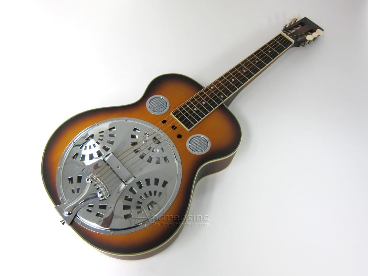 mudslide square neck resonator guitar w hard case reverb. Black Bedroom Furniture Sets. Home Design Ideas