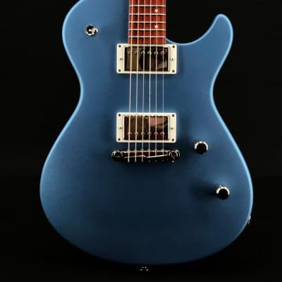 Skermetta Guitars Petros R-100 in Satin Blue Metallic for sale
