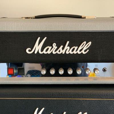 """MarshallStudio Jubilee 2525H """"Silver Jubilee"""" 20-Watt Guitar Amp Head"""