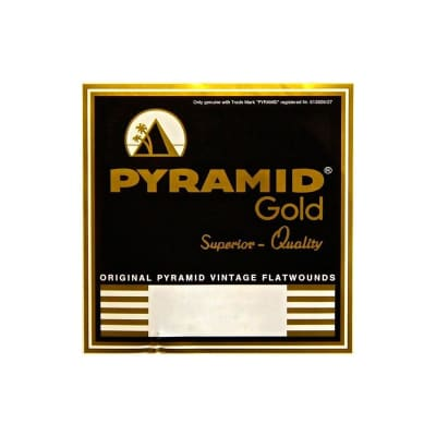 Pyramid Electric Gold Flatwound 12 String Extra Light 10-42