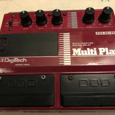 DOD Digitech PDS-20/20 Multi-Play Vintage Delay Multi Efx Pedal (Chorus Flanger Looper)