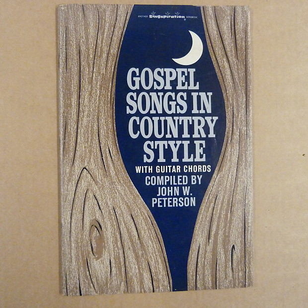 songbook GOSPEL SONGS IN COUNTRY STYLE with guitar chords, | Reverb
