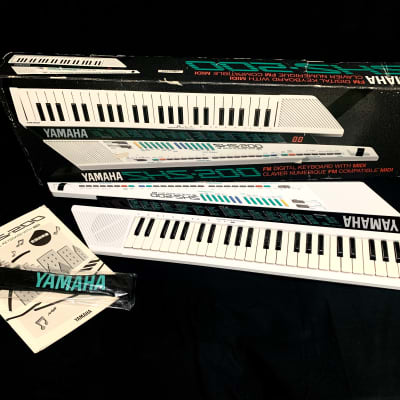 """Japan Bindage"" Yamaha SHS-200 FM Digital Keyboard With MIDI 1988 From Japan"