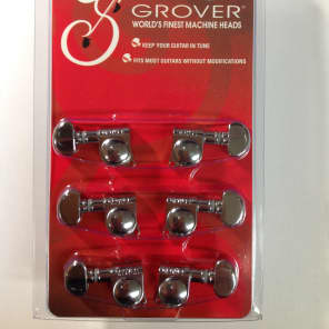 Grover 305C Rotomatic 3+3 Tuning Machines 18:1 Ratio