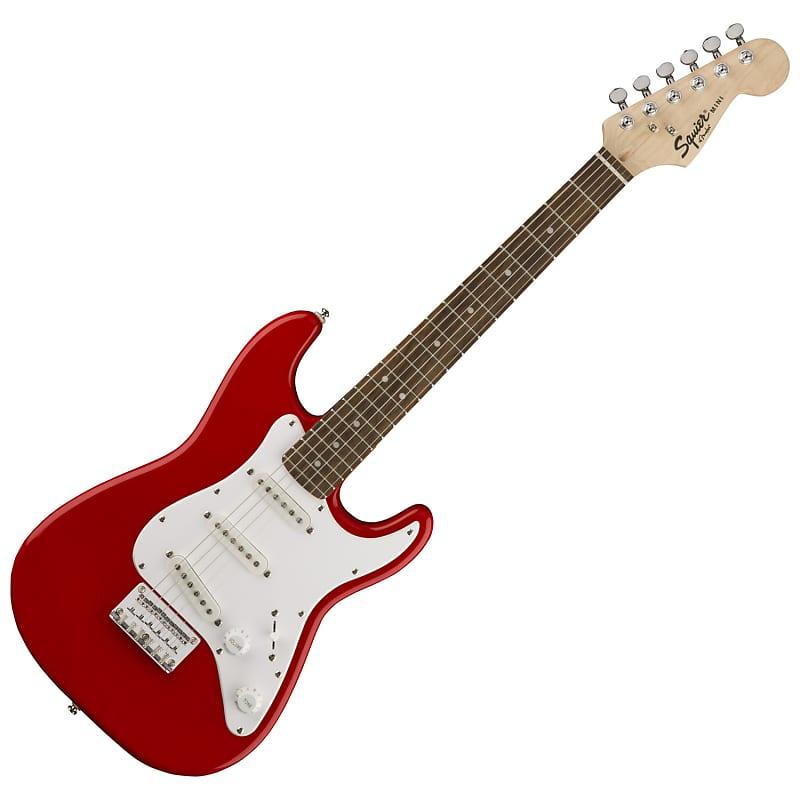 fender mini strat v2 laminated hardwood electric guitar reverb. Black Bedroom Furniture Sets. Home Design Ideas
