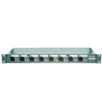 Radial Pro D8 Rackmount DI