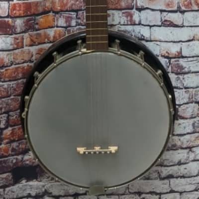 Vintage Kay USA Made 5 String Banjo with Resonator - A Cool Americana Item! for sale