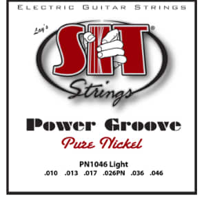 SIT Power Groove Electric Guitar Strings - Light for sale