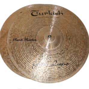 "Turkish Cymbals 15"" Custom Series Golden Legend Hi-Hat GL-H15 (Pair)"