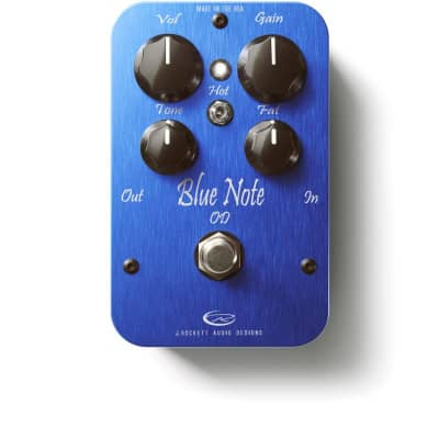 J Rockett Audio Designs Pro Series Blue Note Overdrive Guitar Effect Pedal for sale