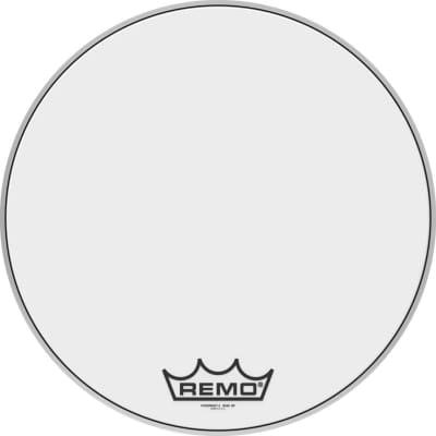 "22"" Powermax 2 Ultra White marching bass drum head"