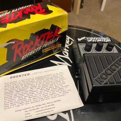 Rocktek Distortion  Black w/box for sale