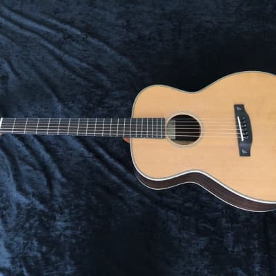 New Terry Pack OMRC handmade acoustic guitar, solid rosewood/cedar, rich, warm sound, perfect action for sale