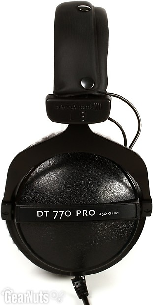 beyerdynamic dt 770 pro 250 ohm closed back studio mixing reverb. Black Bedroom Furniture Sets. Home Design Ideas