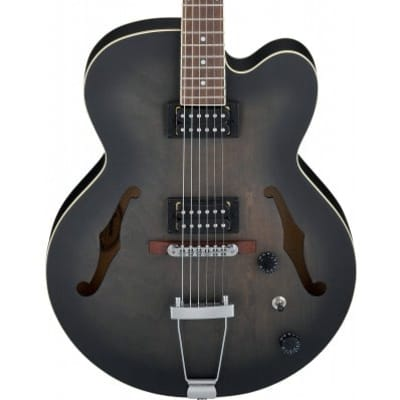Ibanez Artcore AF55-TKF Transparent Black Flat Hollow Body for sale