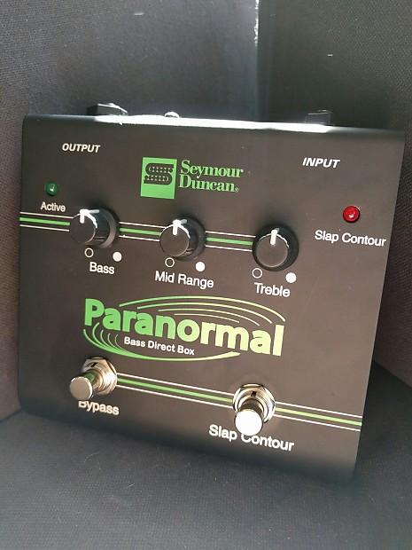 Seymour Duncan Paranormal Bass DI Box SFX-06 | Reverb
