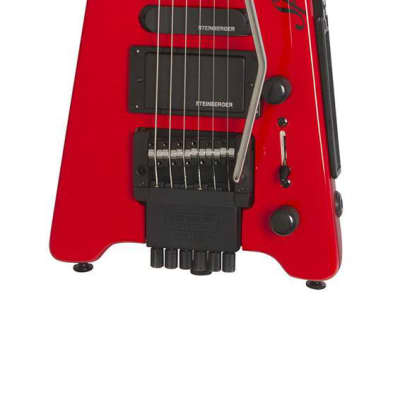 Steinberger Spirit GT-PRO Deluxe Electric Guitar in Hot Rod Red