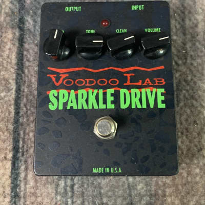 Used Voodoo Lab Sparkle Drive Overdrive Pedal