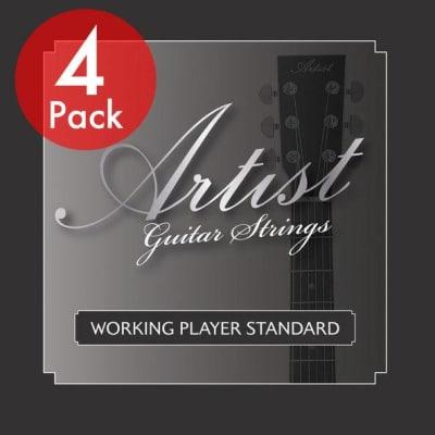 Artist 4 Pack ELST1046 Electric Guitar Strings Gauge 10-46