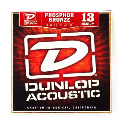 Dunlop Phosphor Bronze Acoustic Guitar Strings - Light 12-54