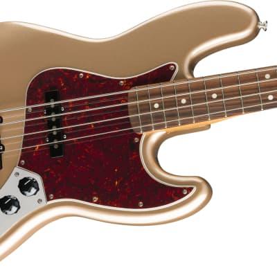 Fender Vintera '60s Jazz Bass, Pau Ferro Fingerboard, Firemist Gold for sale