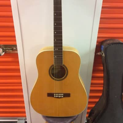 Goya 12 string dreadnaught circa mid 1960's Natural for sale