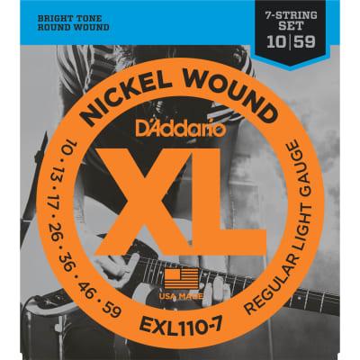 D'Addario EXL110-7 Nickel Wound 7-String Regular Light 10-59