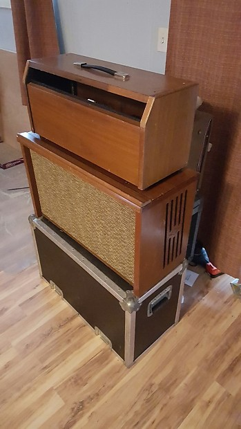custom guitar head cabinet made from hammond organ materials reverb. Black Bedroom Furniture Sets. Home Design Ideas