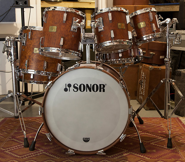 b43766fb8d10 Sonor Signature 1986 Bubinga