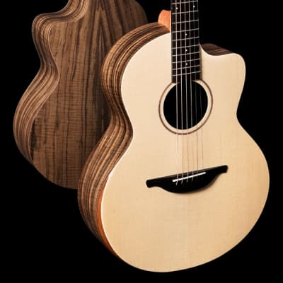 Sheeran S-04 Sitka Spruce & Figured Walnut Cutaway & Bevel w/ Pickup NEW for sale